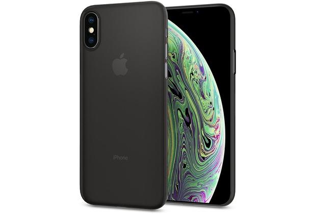Spigen Air Skin for iPhone XS black