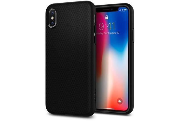Spigen Case Liquid Air for iPhone X/ XS, matt black