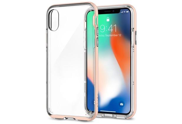 Spigen Case Neo Hybrid Crystal for iPhone X Rosé Gold