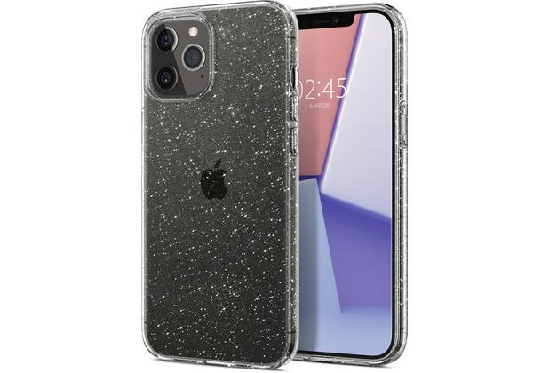 Spigen Liquid Crystal Glitter for iPhone 12 / 12 Pro crystal quartz