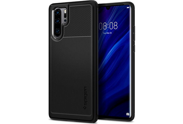 Spigen Rugged Armor for P30 Pro matt black