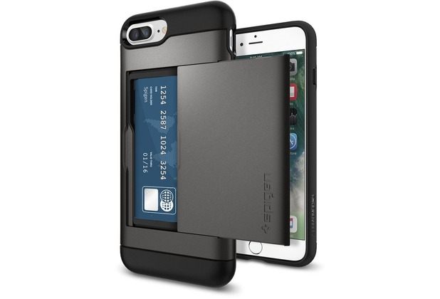 Spigen Slim Armor CS for iPhone 7 Plus / iPhone 8 Plus gun metal