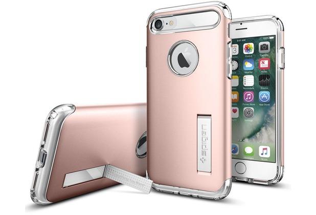 Spigen Slim Armor for iPhone 7 / 8 rose gold colored