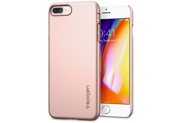 Spigen Thin Fit for iPhone 8 Plus rose gold col.