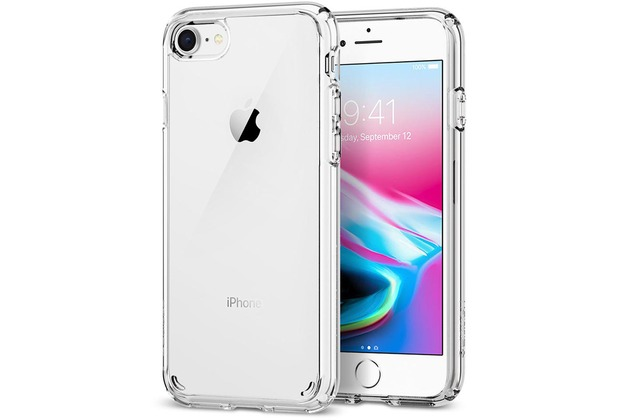 Spigen Ultra Hybrid 2 for iPhone 7/8 crystal clear