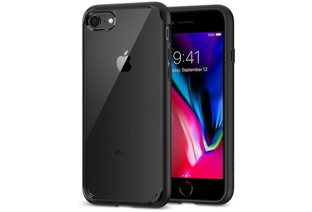 Spigen Ultra Hybrid 2 for iPhone 7/8 schwarz