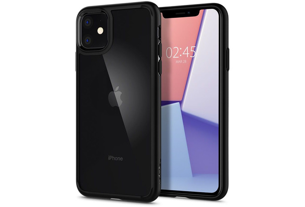 Spigen Ultra Hybrid for iPhone 11 matt black