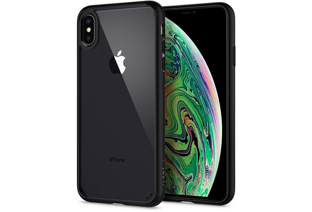 Spigen Ultra Hybrid for iPhone XS Max matt black