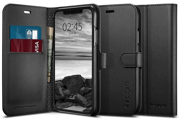 Spigen Wallet S for iPhone XR black