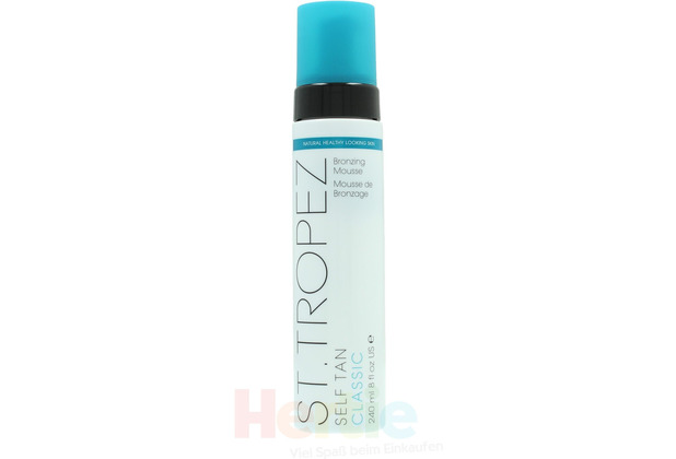 St. Tropez Self Tan Classic Bronzing Mousse Natural healthy - looking skin, Selbstbräunungsmousse 240 ml