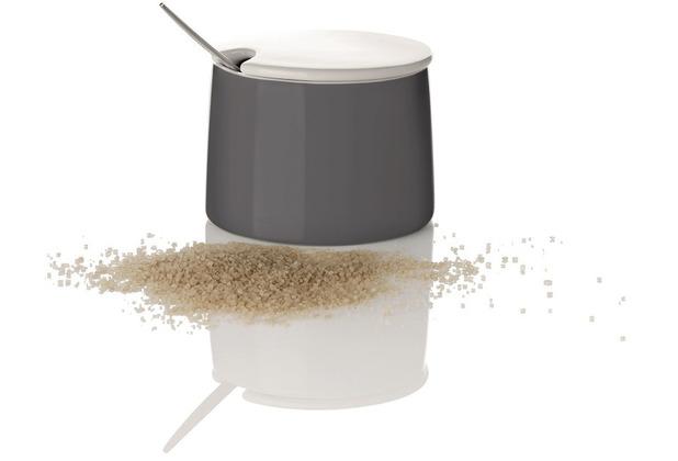 stelton Zuckerschale EMMA 0.2 l dunkelgrau