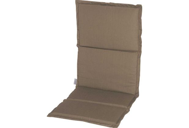 Stern Auflage ca. 93x46x2 cm für Stapelsessel 100% Polyester Dessin taupe