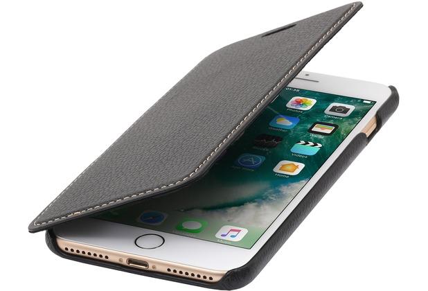 Stilgut Book Type Case ohne Clip für iPhone 7 Plus, schwarz