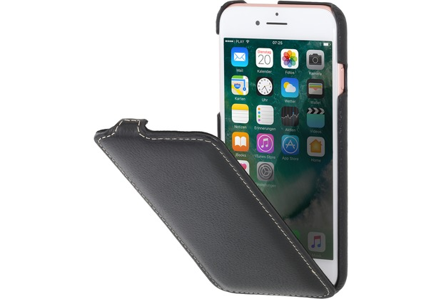 Stilgut UltraSlim Case für Apple iPhone 7, schwarz