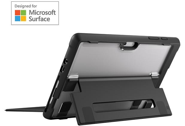 STM Dux Case, Microsoft Surface Go, schwarz/transparent