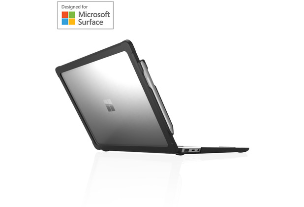 STM Dux Case, Microsoft Surface Laptop 3/2 (13,5), schwarz/transparent, STM-122-262M-01