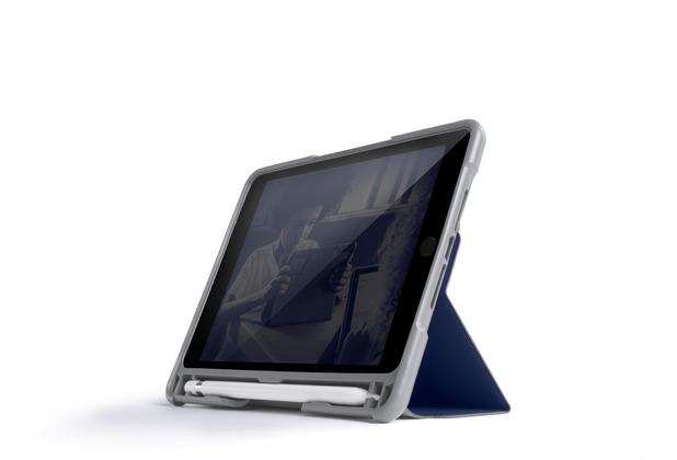 STM Dux Plus DUO Case, Apple iPad mini 5 (2019) / 4, midnight blau/transparent, STM-222-236GY-03