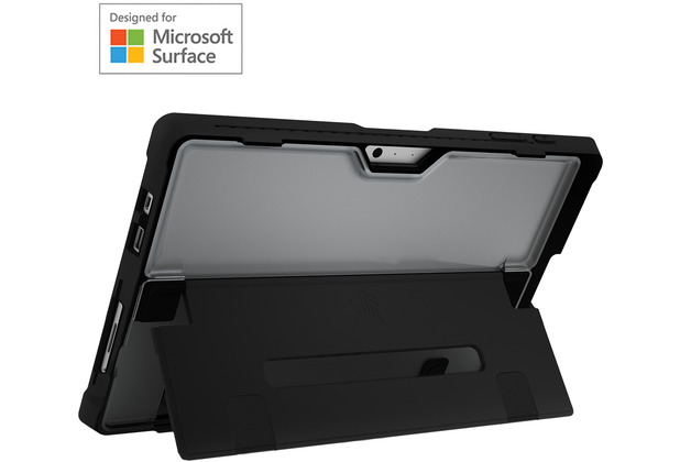 STM Dux Shell Case, Microsoft Surface Pro 7/6/5/LTE, schwarz/transparent, STM-222-260L-01