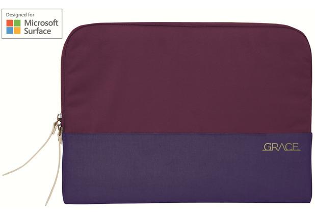 STM Grace Sleeve 13, Microsoft Surface Pro X/7/6/5/LTE, dark purple, STM-114-106M-45