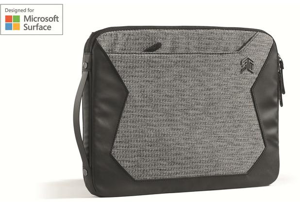 STM Myth Sleeve 15, Microsoft Surface Book 2 (13 & 15), granite black, STM-114-184P-01