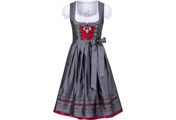 Stockerpoint Dirndl Iman anthrazit 34