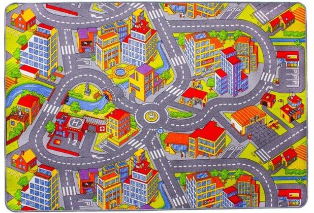 Andiamo Kinder-Teppich Straße 100 x 165 cm