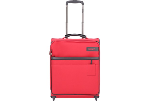 Stratic Light 2-Rollen Kabinentrolley 53 cm red
