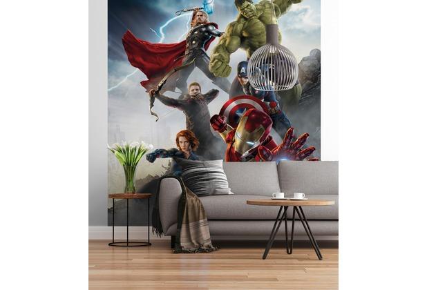 """Sunny Decor Fototapete \""""Marvel Avengers Age of Ultron\"""" 184 x 254 cm"""