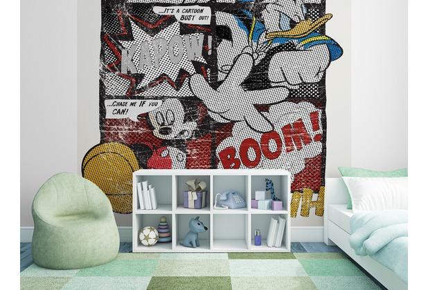 """Sunny Decor Fototapete \""""Mickey\'s Great Escape\"""" 184 x 254 cm"""