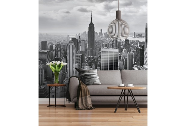 "Sunny Decor Fototapete ""NYC Black And White\"" 368 x 254 cm"