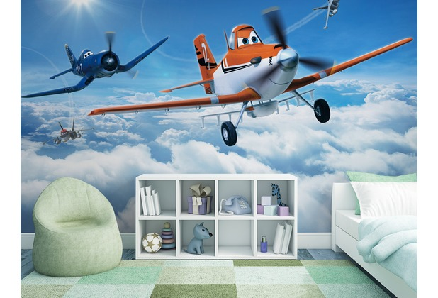 "Sunny Decor Fototapete ""Planes Above the Clouds\"" 368 x 254 cm"