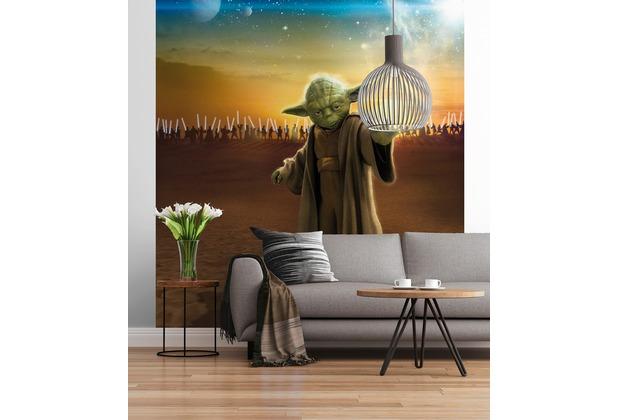 "Sunny Decor Fototapete \""STAR WARS Master Yoda\"" 184 x 254 cm"