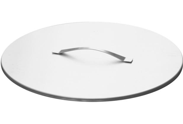SvenskaV Deckel 63 cm Durchmesser, Edelstahl