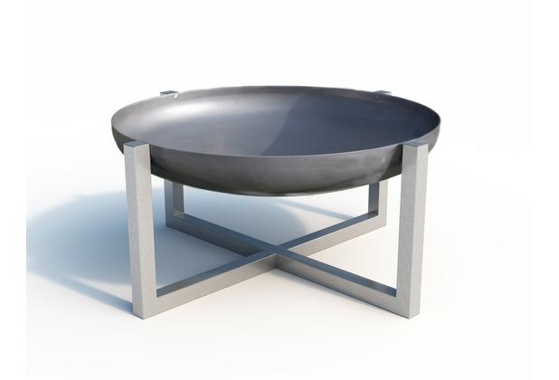SvenskaV Design Feuerschale CROSS Super XXL Edelstahl