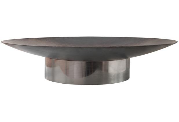 SvenskaV Design Feuerschale GRACE M Rohstahl - Ring Edelstahl