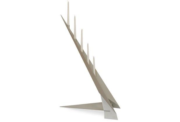 SvenskaV Design Kerzenleuchter Futura, Silber