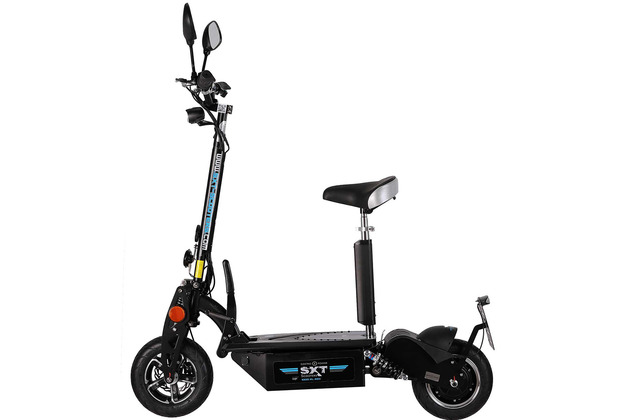 SXT-Scooters SXT1000 XL EEC Facelift schwarz 48V 12Ah Bleiakku