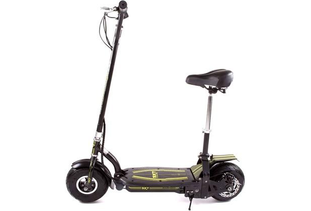 SXT-Scooters SXT300 Elektroroller Elektroroller mit 300W in schwarz 20 km/h schwarz 24V 300W Lithiumakku