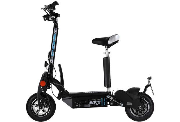 SXT-Scooters SXT500 EEC Facelift schwarz 36V 12Ah Bleiakku