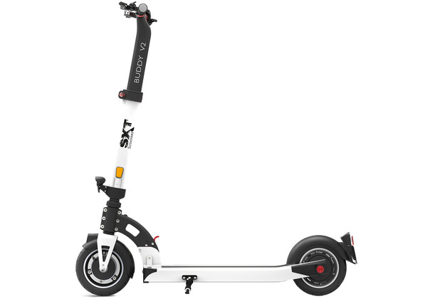 SXT-Scooters SXT Buddy V2 weiß - eKFV Version - STVO zugelassen