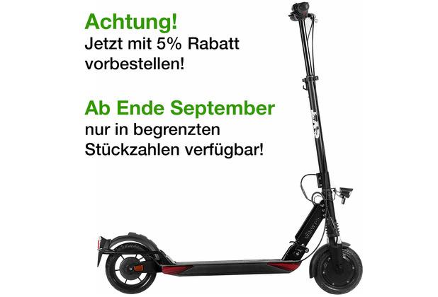 SXT-Scooters SXT Light Plus V matt schwarz - eKFV Version - STVO zugelassen