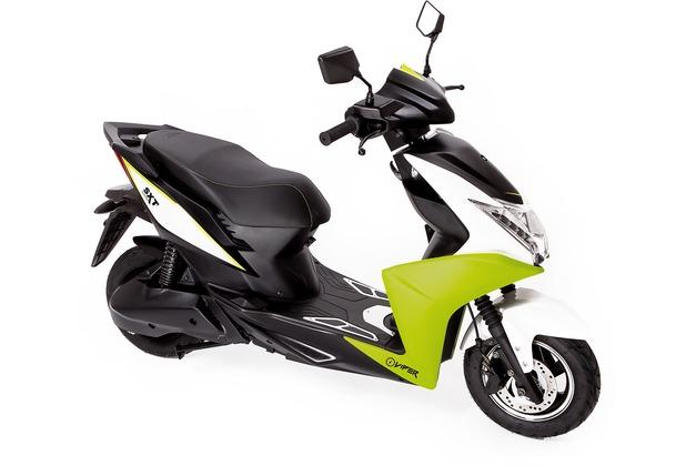 SXT-Scooters Viper Elektroroller neongrün