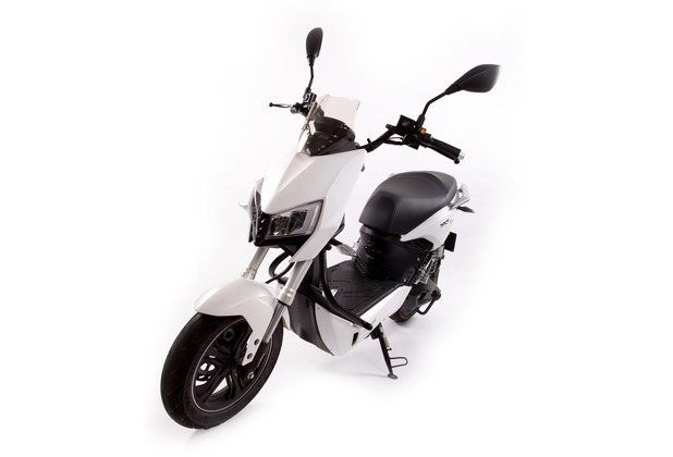 SXT-Scooters Z3 2-Sitzer Elektroroller weiß