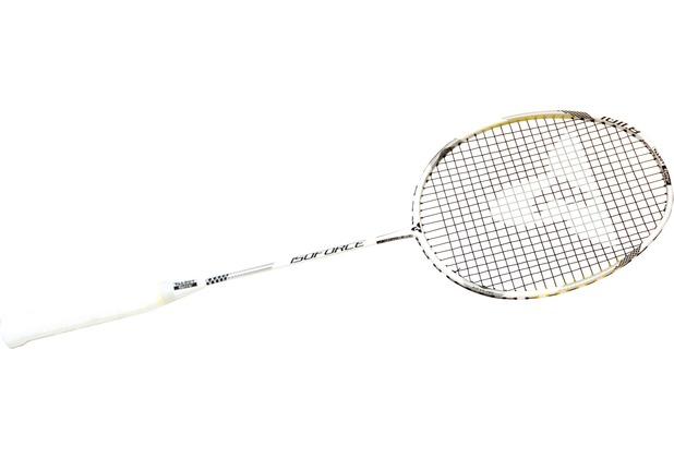 Talbot-Torro Badmintonschläger Isoforce 1011.8 C4, weis-schwarz-silber