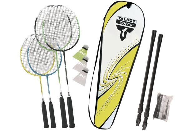 Talbot-Torro Badminton-Set FAMILY 2 Junior+2 Standardschläger im Thermobag