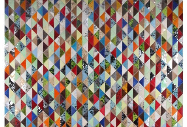 talis teppiche Lederteppich LEATHER Des. 1502 multi 200 x 300 cm