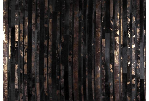talis teppiche Lederteppich LEATHER Des. 2005 braun-kupfer 200 x 300 cm