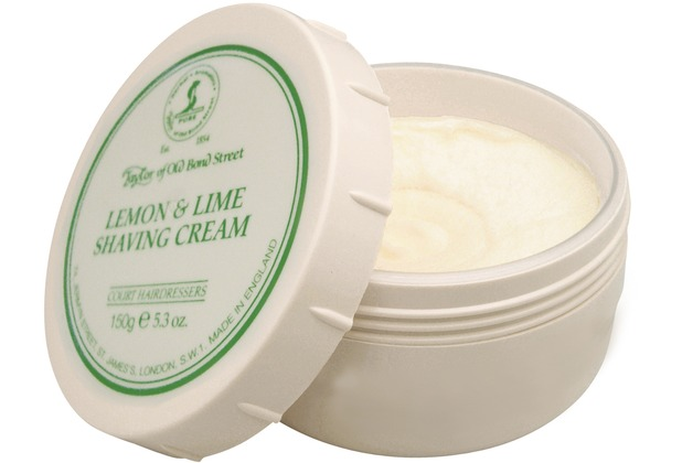 Taylor of Old Bond Street Shaving-Cream Lemon & Lime, 150 g