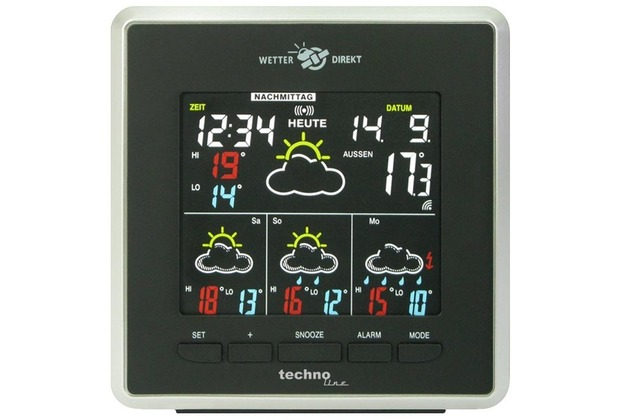 TechnoTrade WD 4026 Premium - Wetterstation
