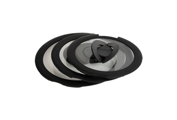 Tefal Ingenio Glasdeckel-Set 3-tlg. (Ø 16, 18, 20 cm)